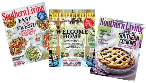 Sign up for a free one-year subscription to Southern Living magazine!