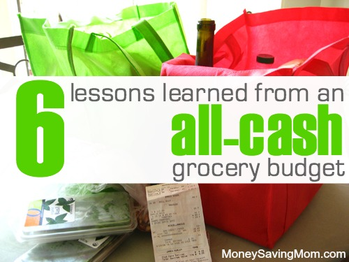all cash grocery budget