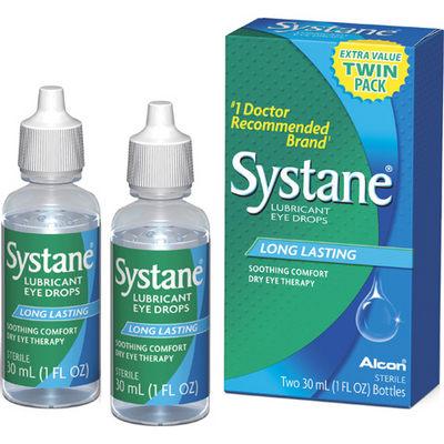 target systane eye drops