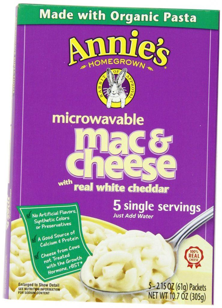Annie's Homegrown White Cheddar Microwavable Mac & Cheese Deal