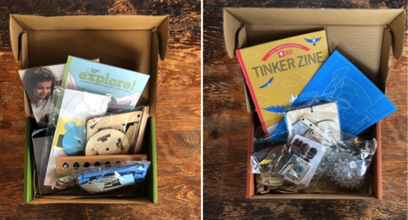 Kiwi Crate and Tinker Crate Boxes
