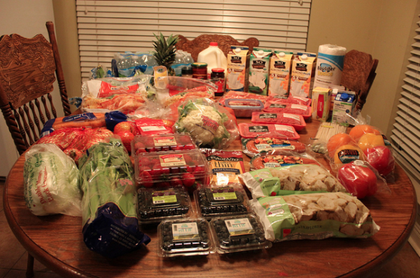 Our $130 Grocery Shopping Trip & Weekly Menu Plan