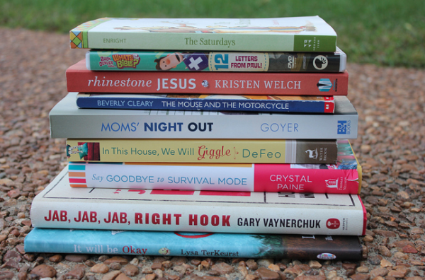 Win This Stack of Books