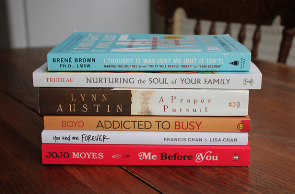 My Book Stack This Week