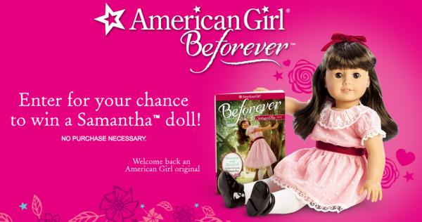 Win an American Girl Samantha Doll!