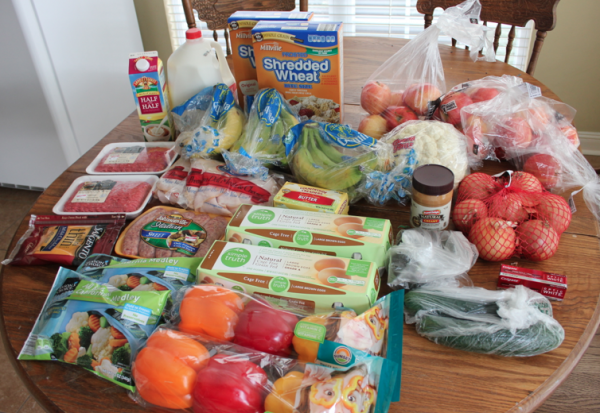 This Week's Grocery Shopping Trip