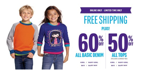 The Children's Place Kid's Jeans for $5.59 shipped