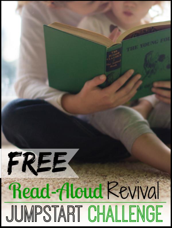 Free Read Aloud Revival Jumpstart Challenge