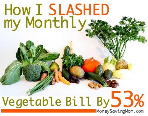 vegetable bill