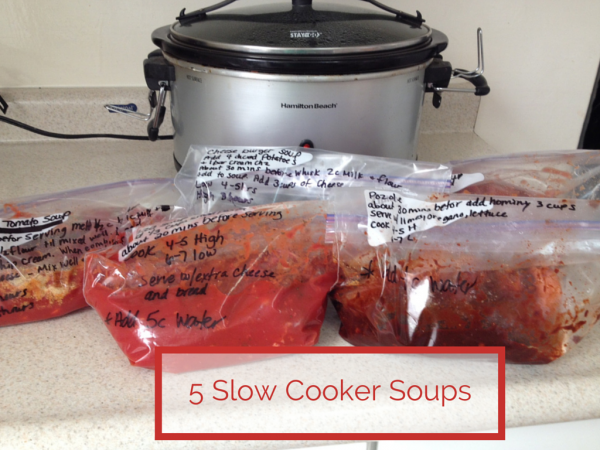 5 Slow Cooker Soups