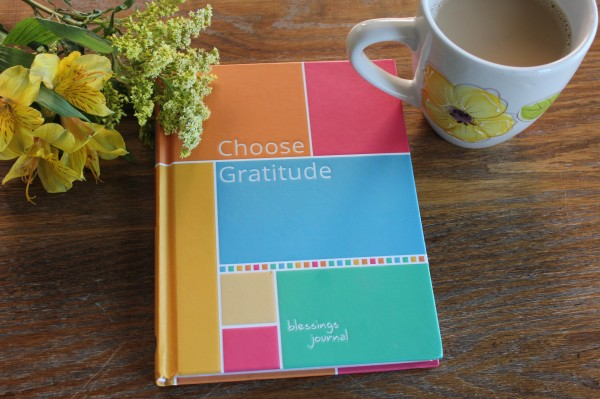 Choose Gratitude Blessings Journal