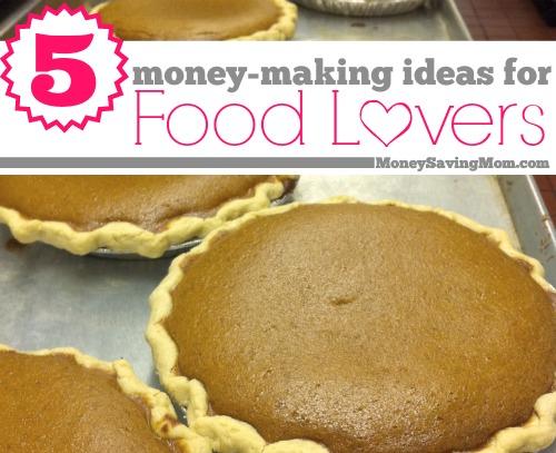 5 money-making ideas