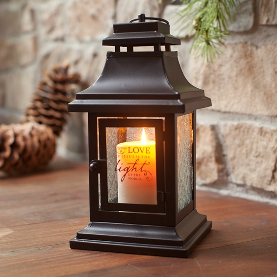 Dayspring love came down decorative lantern for just 9 for Decorations noel exterieur maison