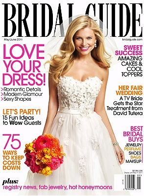 Inside the new issue | bridalguide.