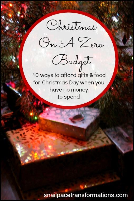 Christmas On A Zero Budget Money Saving Mom