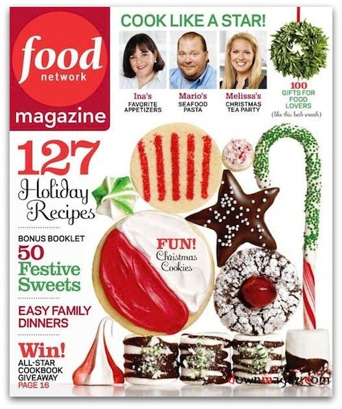 Rare deal two year subscription to food network magazine for Food network magazine phone number customer service