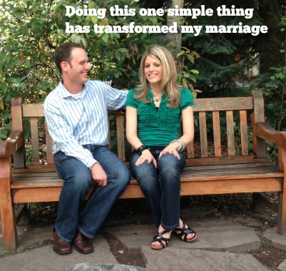 The one simple thing that has transformed my marriage