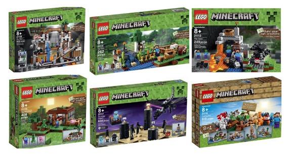 Amazon.com: New LEGO Minecraft Creative Sets - Money Saving Mom®