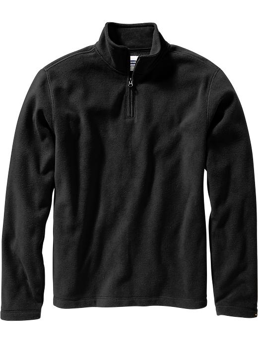 Old Navy: Men's Performance Half Zip Fleece Pullovers $9.10 ...