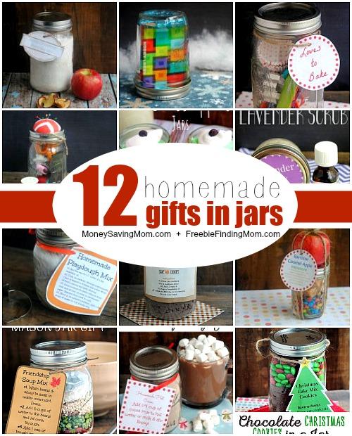 Do It Yourself 12 Gifts In A Jar Ideas Money Saving Mom Money Saving Mom