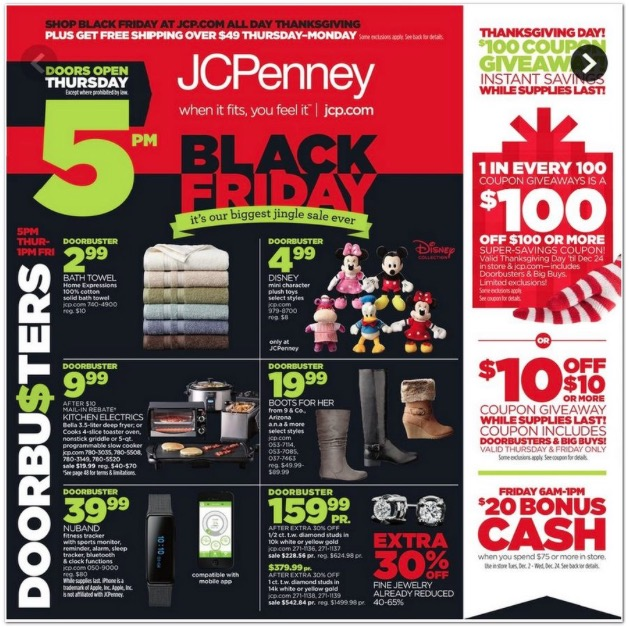 JCPenney Black Friday Ad 2014