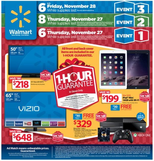 Walmart Black Friday Ad 2014