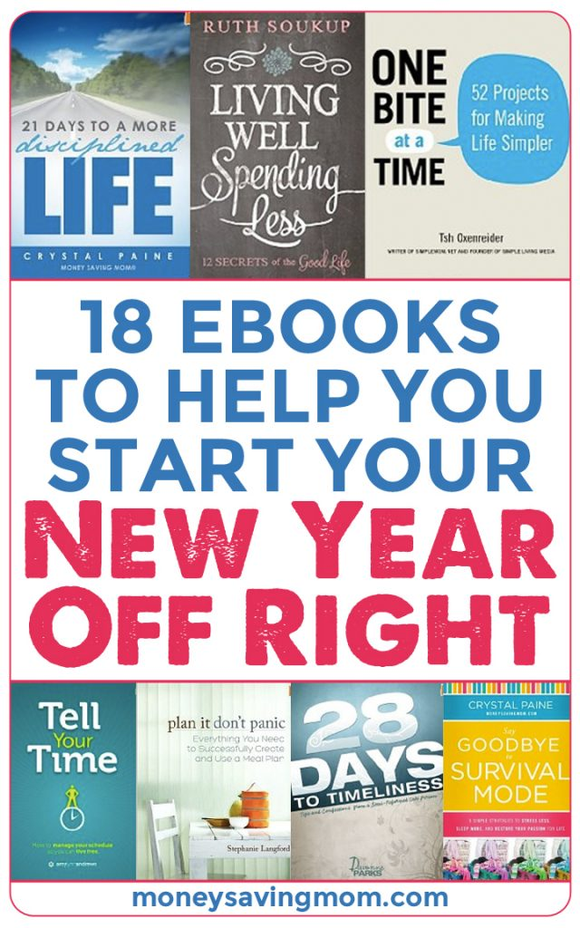 18 Ebooks to Help You Start Your New Year Off Right