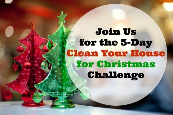 Clean Your House for Christmas Challenge