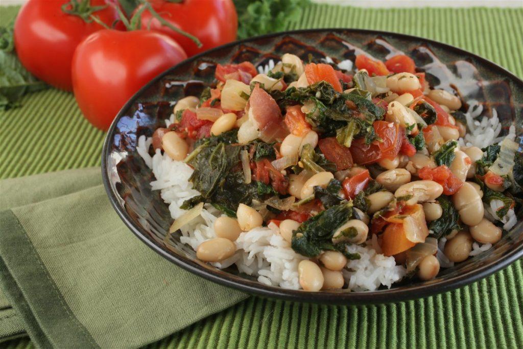 Italian Tomato, Kale and White Bean Stew