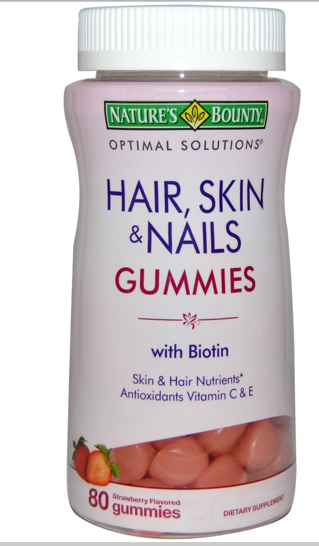 Free Nature's Bounty Hair, Skin, and Nails Gummies sample ...