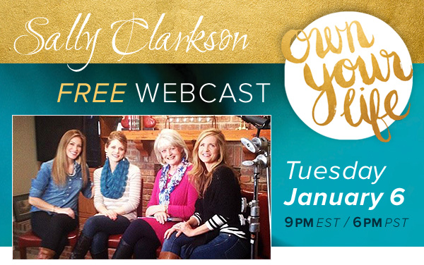 Free Own Your Life webcast