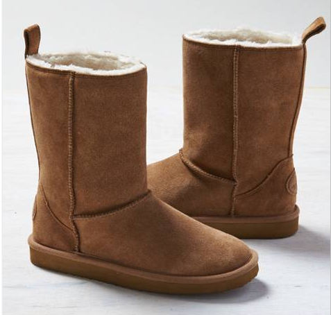american eagle outlet cozy suede boots for 15