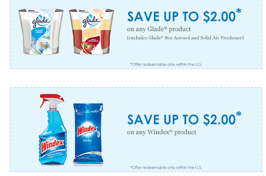 graphic regarding Glade Coupons Printable identified as $2/1 Windex coupon + $2/1 Glade coupon Monetary Preserving Mother