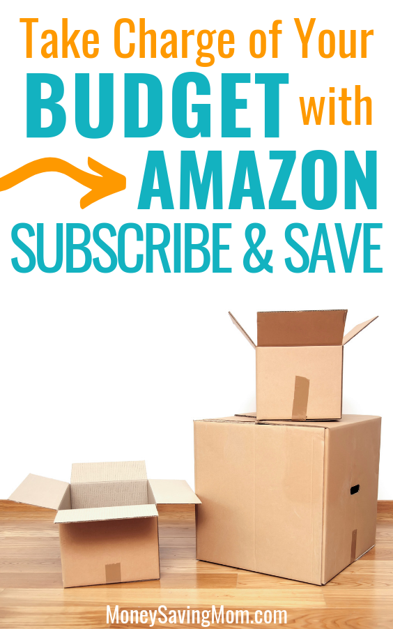 Take Charge of Your Budget with Amazon Subscribe & Save