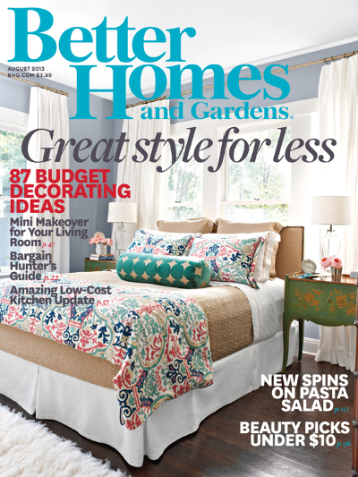 Free better homes gardens magazine subscription money for Home builders magazine