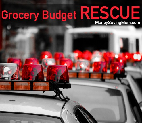 grocery budget rescue
