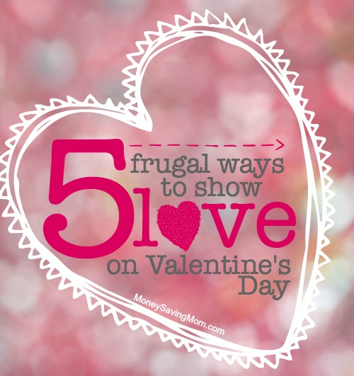 5 frugal ways to show love