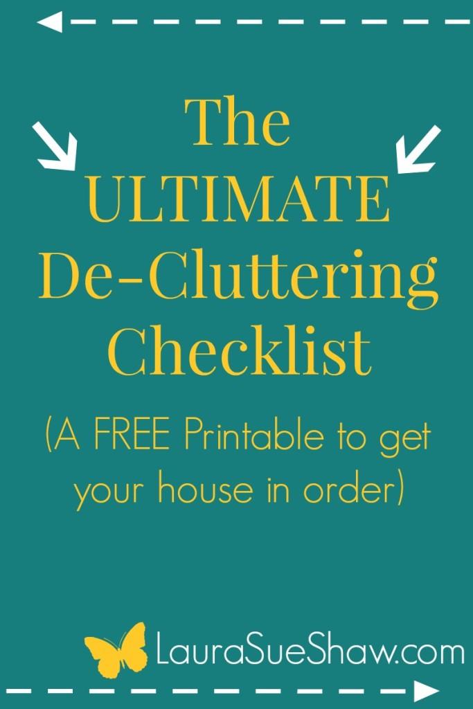 De-Clutter-a-thon-Ultimate-Checklist-683x1024