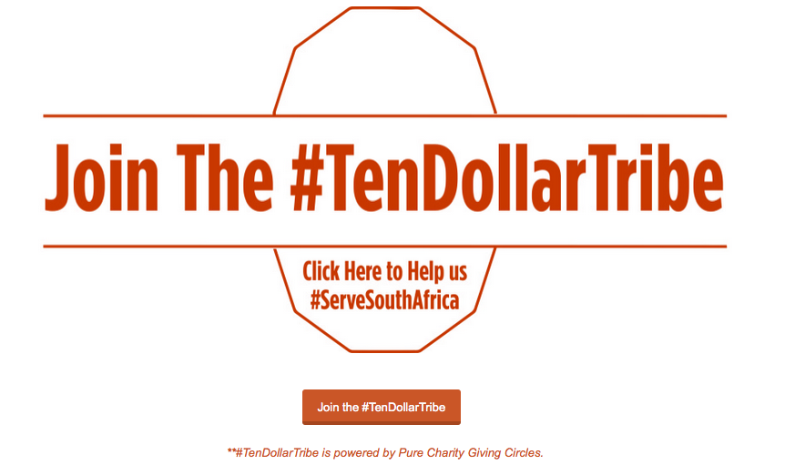 Join the #TenDollar Tribe