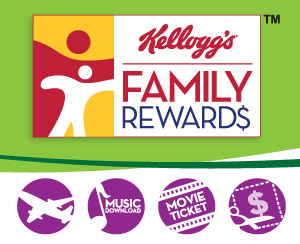Add another 50 free points to your Kellogg's Family Rewards account!