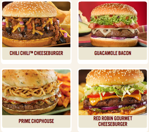 image regarding Red Robin Printable Coupons named Totally free burger at Pink Robin upon your birthday Dollars Preserving Mother