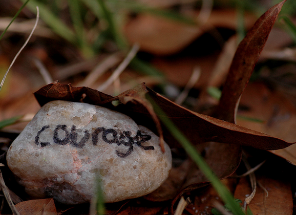 Choose Courage, Not Cowardice