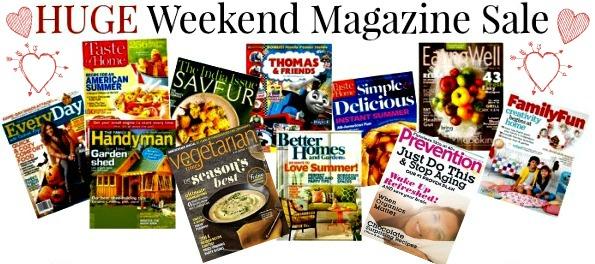 Valentine Magazine Sale