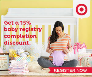 Target Baby Registry: $50 worth of free coupons and samples