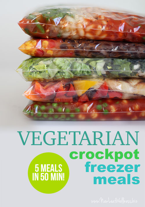Five-Vegetarian-Freezer-Crockpot-Meals-in-50-Minutes
