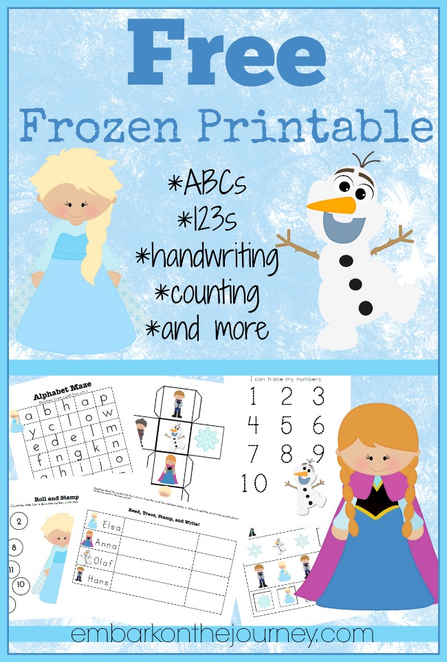Free-Frozen-Printable-Pack