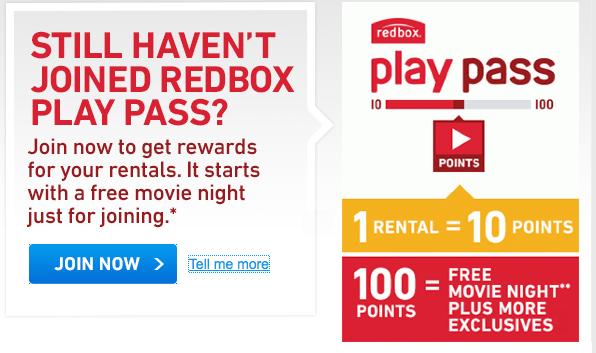 Redbox Playbook Pass