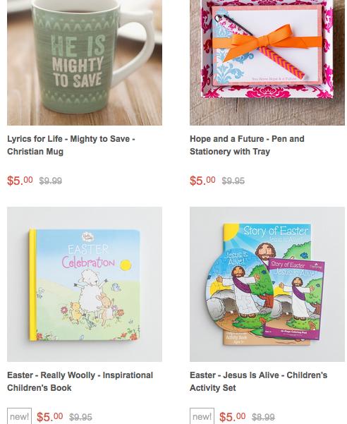 DaySpring $5 Easter Sale