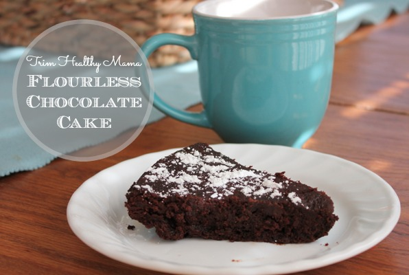 Trim Healthy Mama Flourless Chocolate Cake