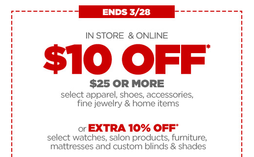get 10 off any 25 purchase at jcpenney with this printable coupon